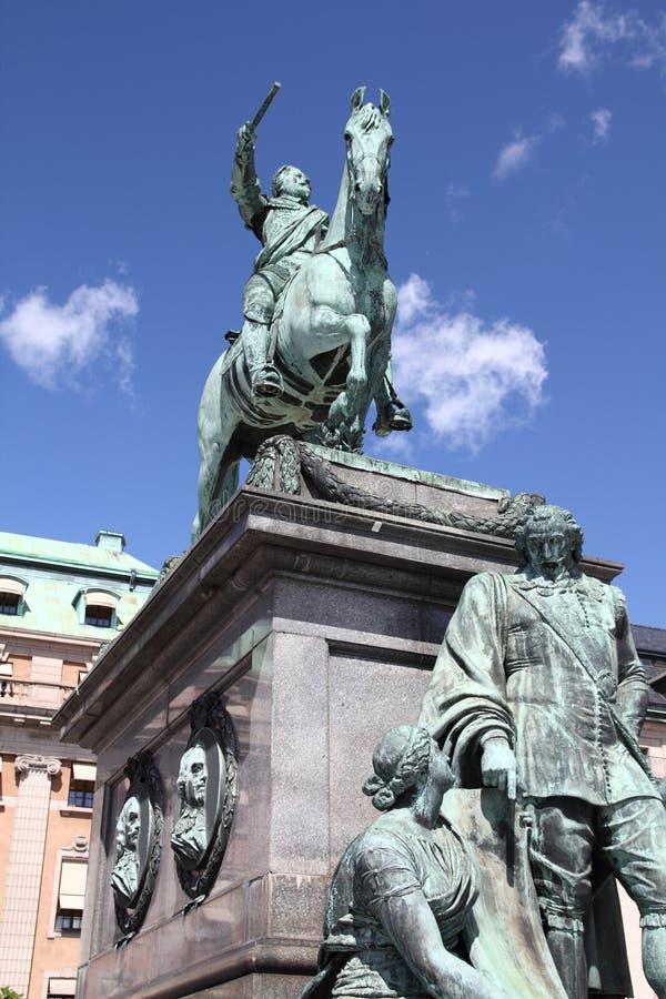 Re della Svezia fotografie stock