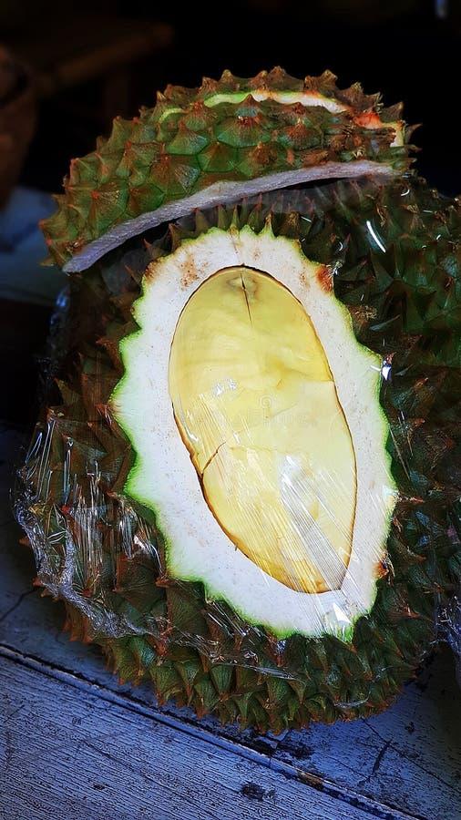 Re di frutta è durian fotografia stock libera da diritti