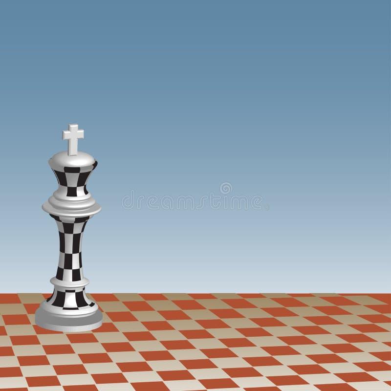 Re di scacchi royalty illustrazione gratis