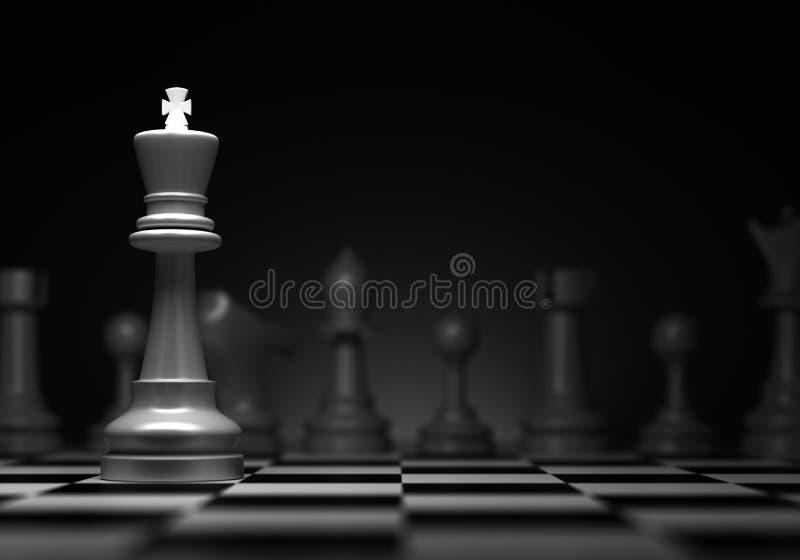 Re di scacchi illustrazione vettoriale