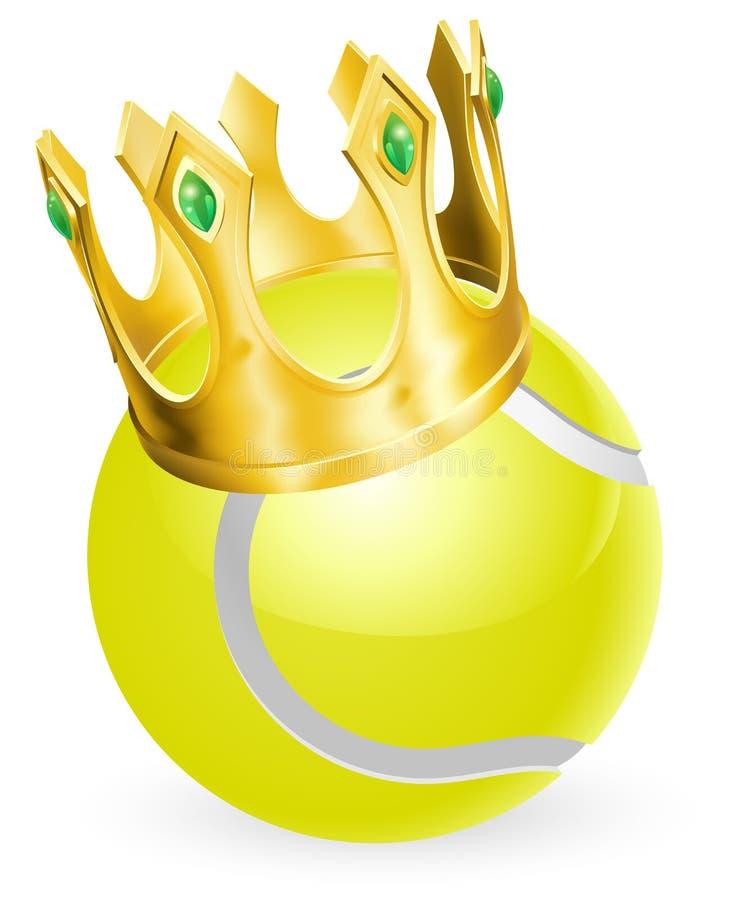 Re di tennis illustrazione di stock