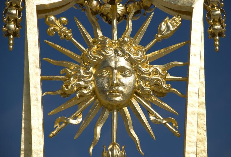 Re di Versailles Sun fotografie stock