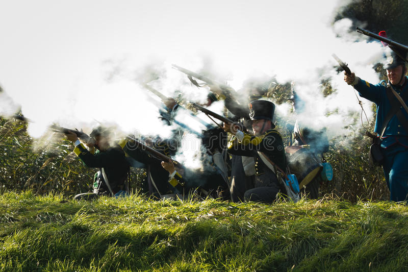 Download Re-enactment: Replay Of Napoleonic Period Editorial Photo - Image: 22029666