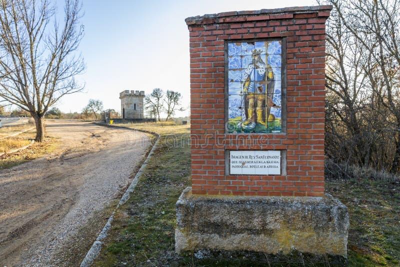 Re Ferdinand III della Castiglia, il san fotografie stock libere da diritti