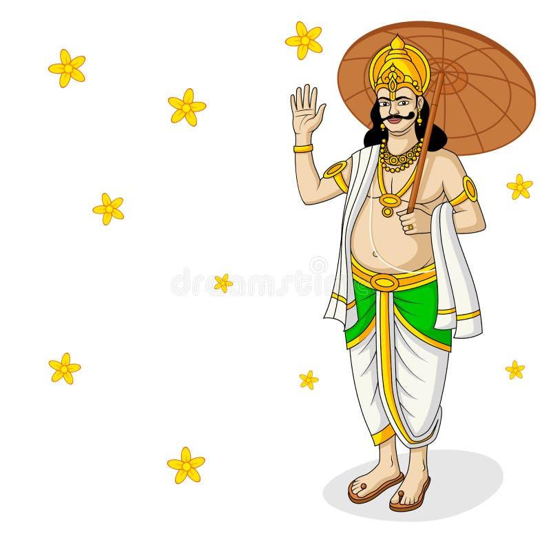 Re Mahabali royalty illustrazione gratis