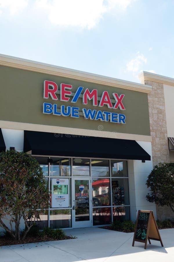 RE/MAX, Kurzschluss für Real Estate-Maxima lizenzfreie stockbilder