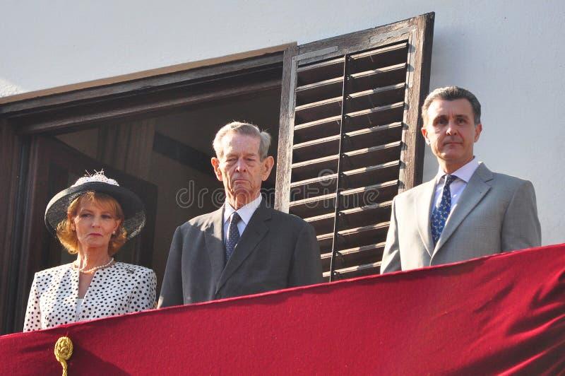 Re Michael della Romania immagine stock