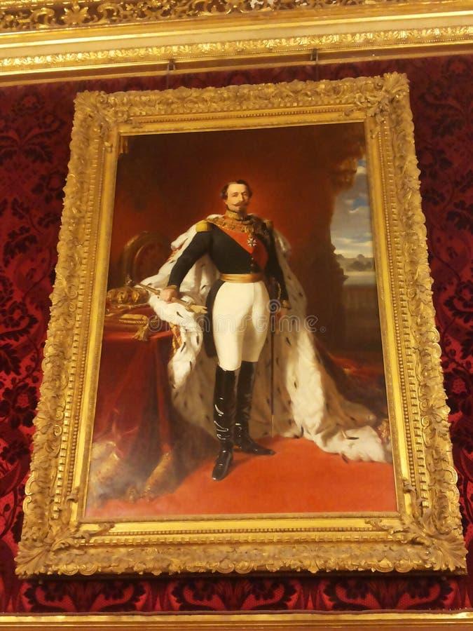 re Napoleon immagini stock