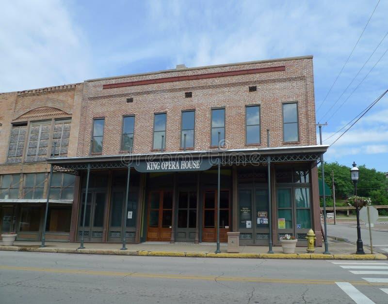 Re Opera House, del centro, Van Buren, Arkansas immagini stock libere da diritti