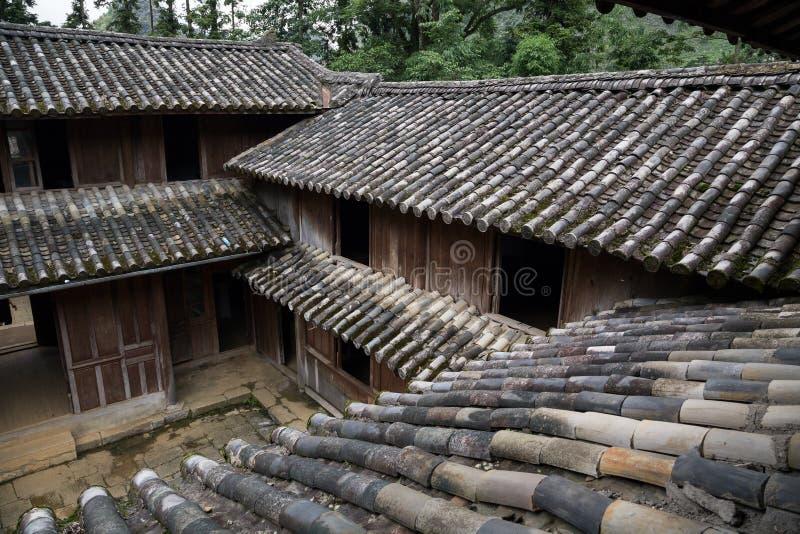 Re Palace del mong di H in Ha Giang, Vietnam immagini stock