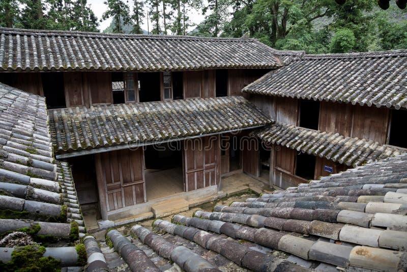 Re Palace del mong di H in Ha Giang, Vietnam immagini stock libere da diritti