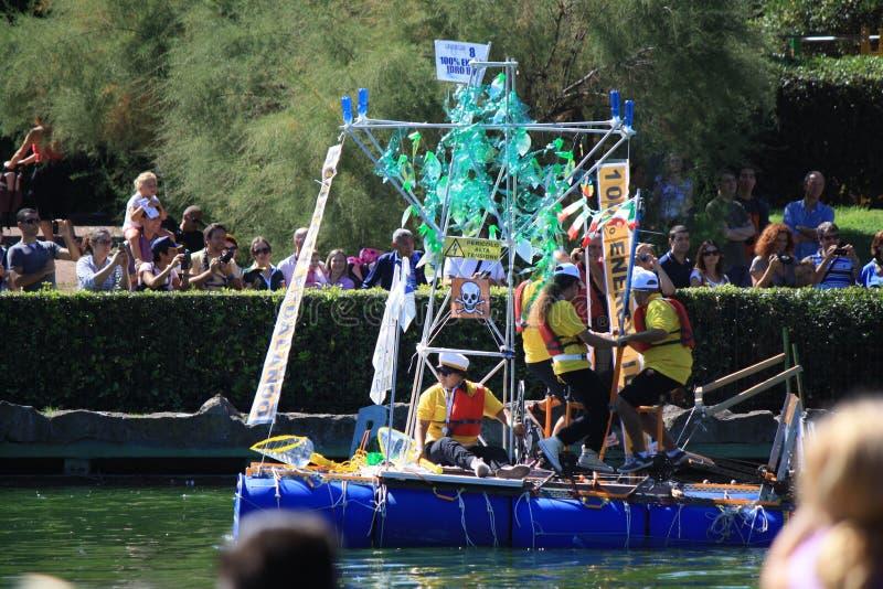 Re raça de barco 2014 foto de stock
