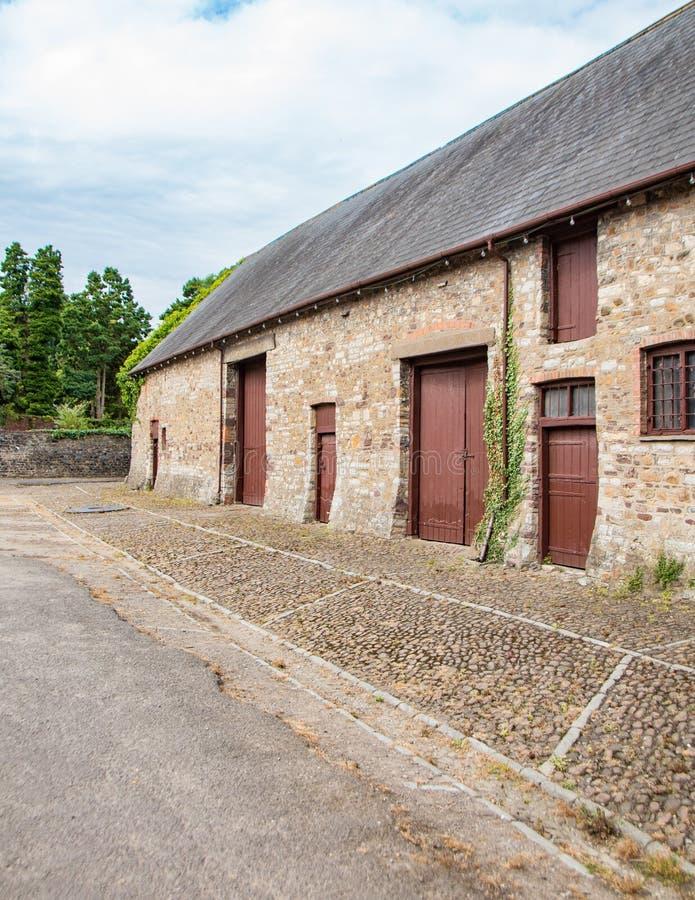 Re-renovated barns royalty free stock photo