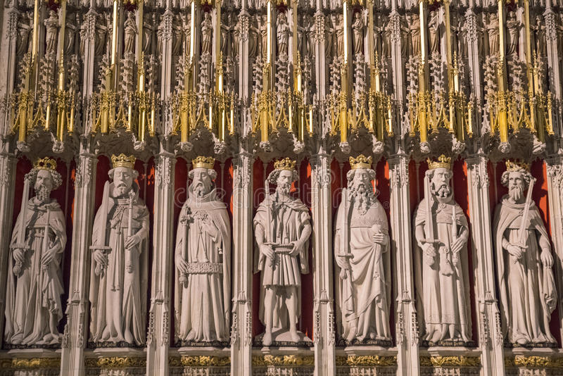 Re Screen a York Minster immagine stock libera da diritti