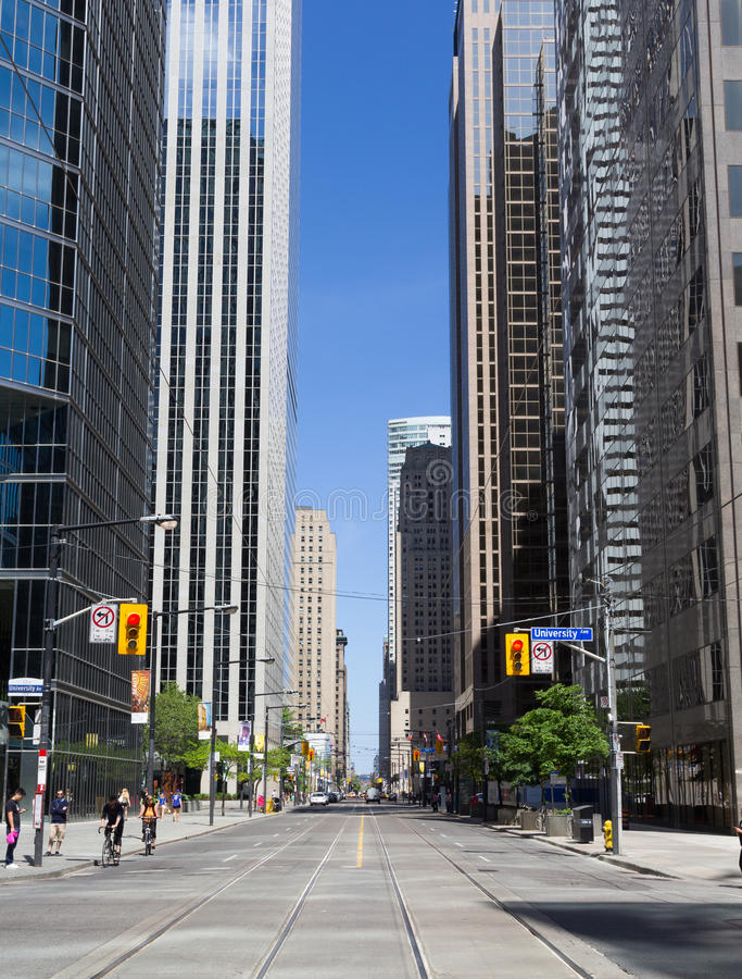 Re Street West Toronto fotografie stock