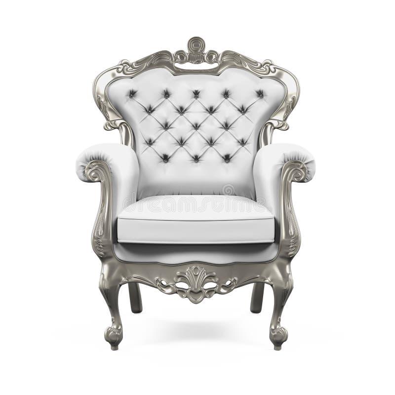 Re Throne Chair illustrazione vettoriale
