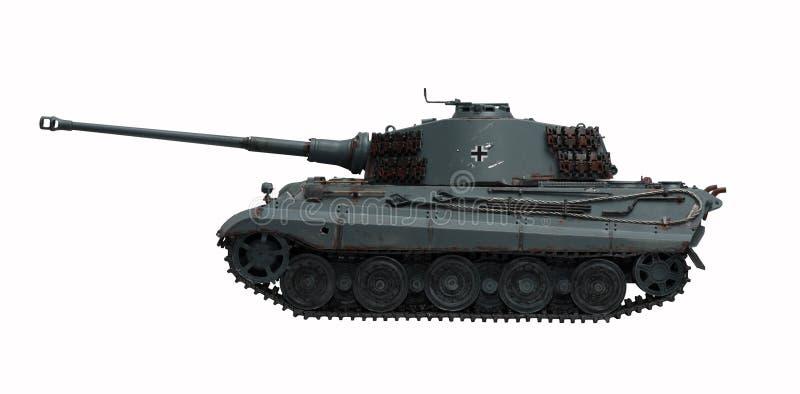 Re Tiger 2 del serbatoio fotografie stock libere da diritti