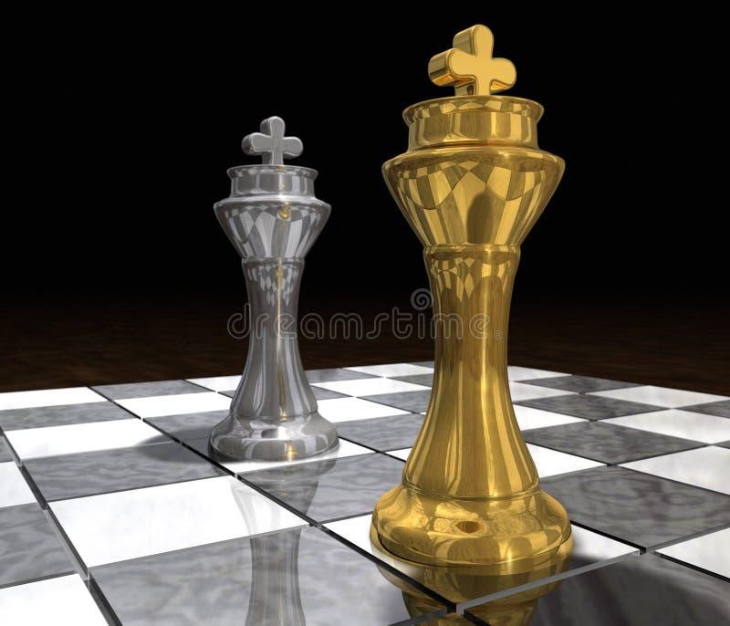 Re Vs re royalty illustrazione gratis