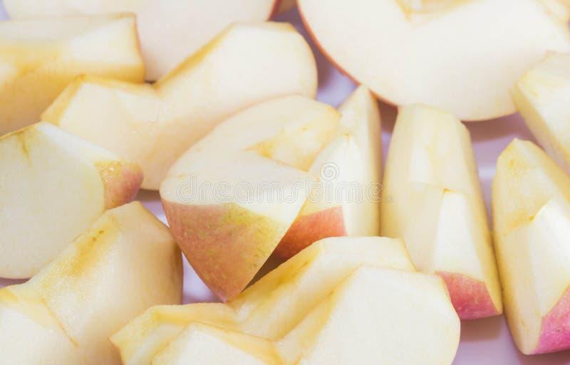 Rea äpple arkivbild