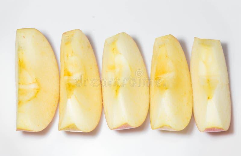 Rea äpple royaltyfri foto