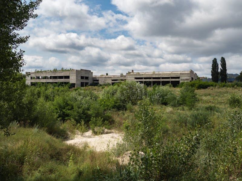 ?rea de Chernobyl Ciudad perdida Edificio, construcci?n fotos de archivo libres de regalías