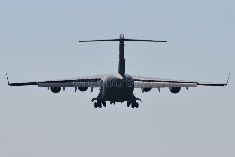 For?a a?rea de Estados Unidos Boeing do U.S.A.F.C-17A Globemaster III foto de stock royalty free