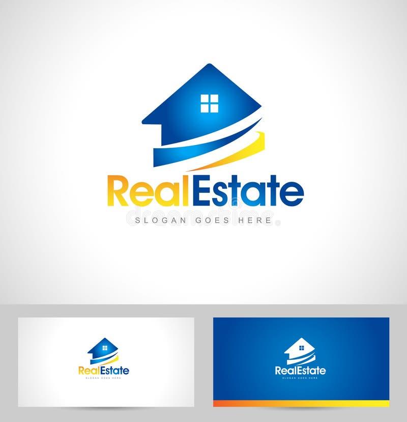 Real Estate Logo stock illustration
