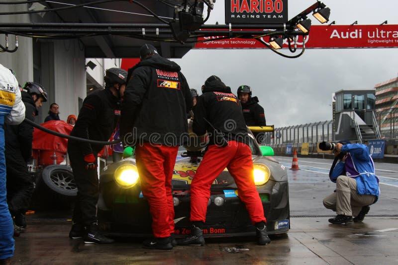 Reabastecimento de Haribo Porsche. fotos de stock royalty free