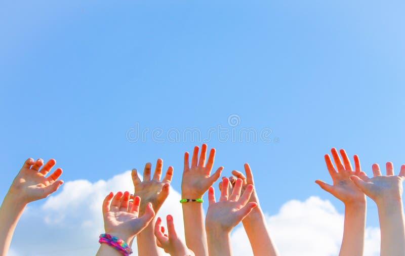 Reach for the Sky stock photos