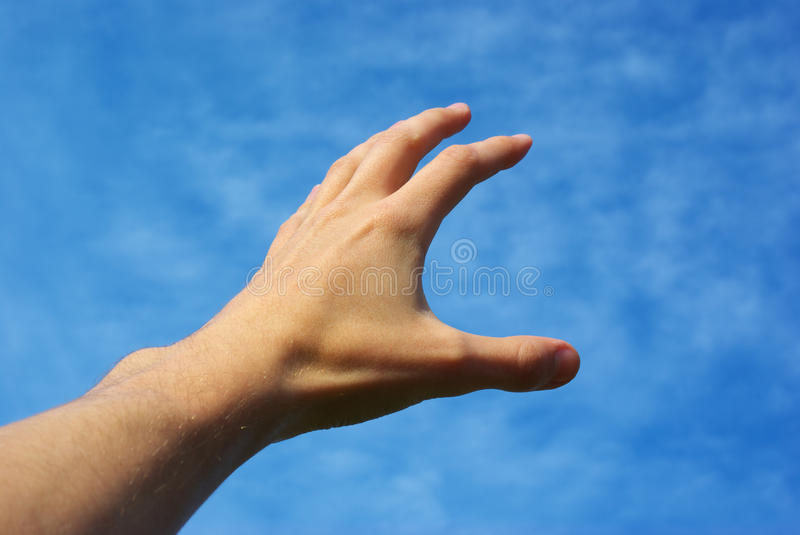 Reach to the sky royalty free stock photography