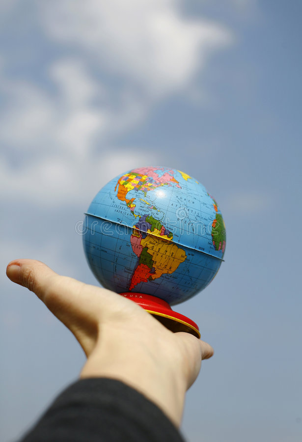 Download Reach For The World Stock Photos - Image: 2436363