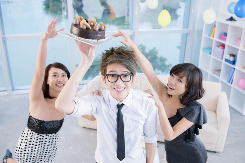 Download Reaching for cake stock photo. Image of cake, cool, high - 28375804
