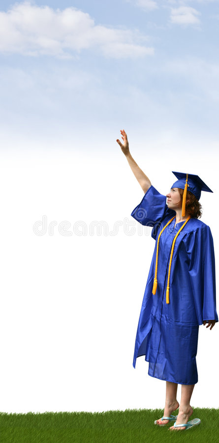 Free Reaching For Success Stock Photography - 4142152