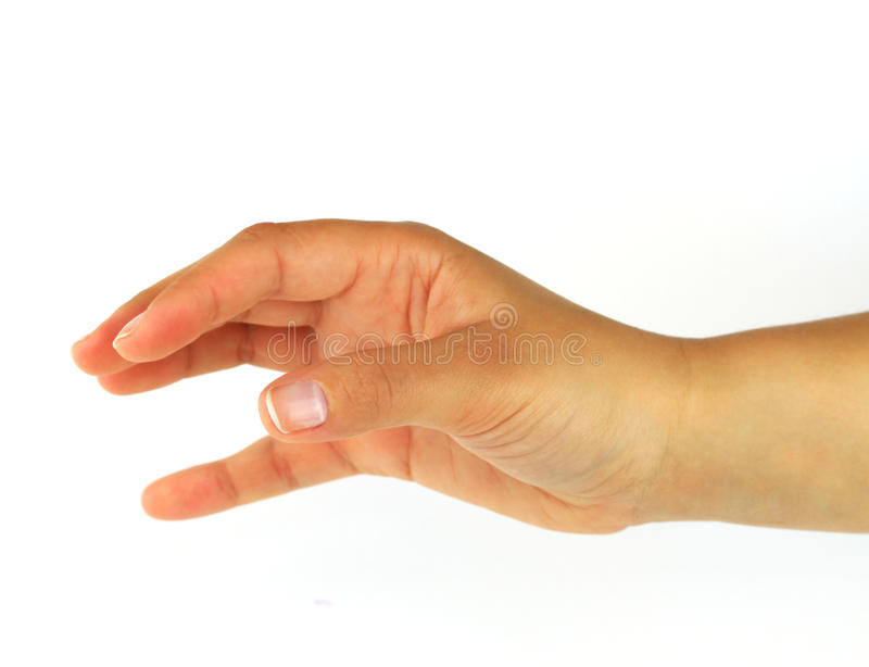 Download Reaching hand stock photo. Image of blank, finger, empty - 18371800