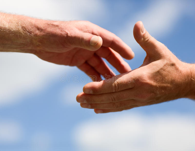 Download Reaching hands stock image. Image of close, christianity - 28547413