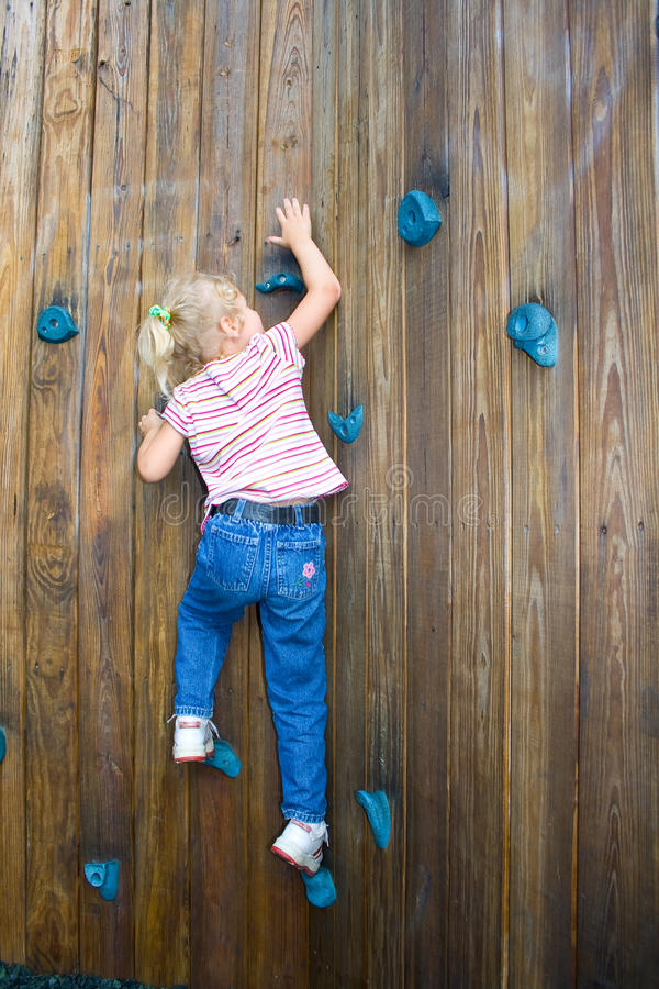 Reaching higher. royalty free stock photography