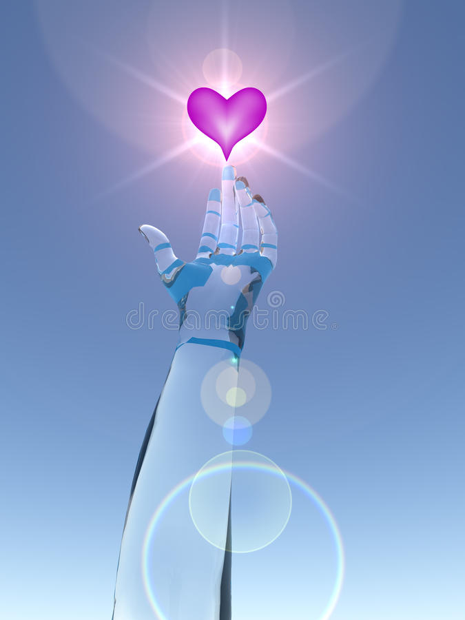 Reaching For Love Stock Images