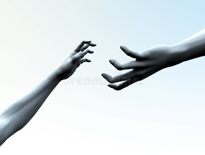 Download Reaching Out Stock Image - Image: 2907131
