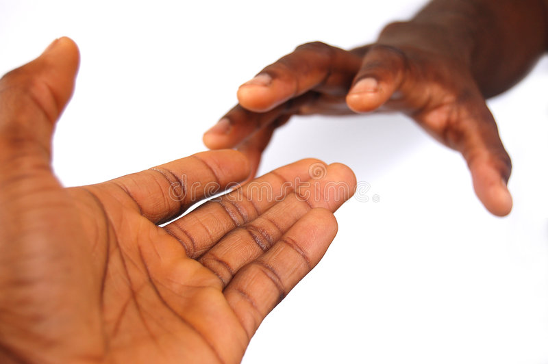 Download Reaching Out Stock Image - Image: 471411