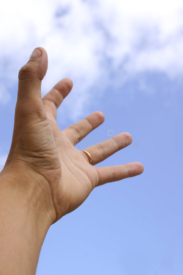 Reaching For The Sky royalty free stock photography