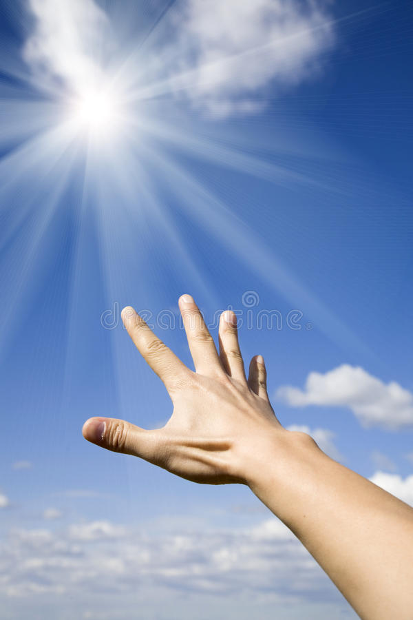 Download Reaching the sun stock photo. Image of goal, future, free - 13337392