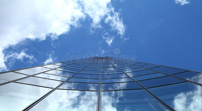 Reaching to the sky stock photography