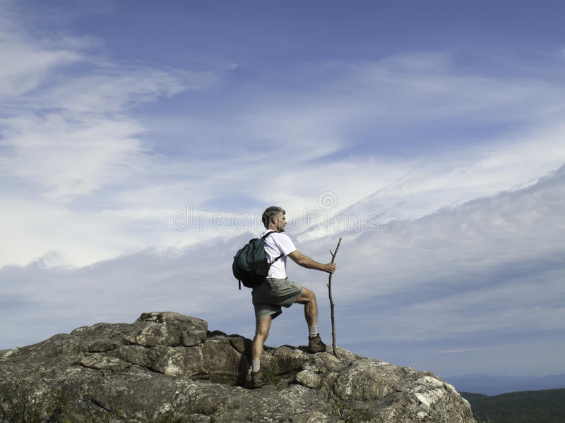 Download Reaching The Top Royalty Free Stock Photography - Image: 17427677