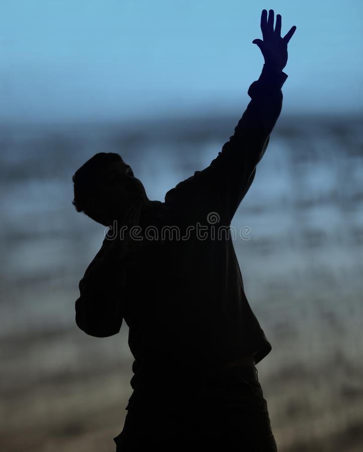 Reaching up stock photos