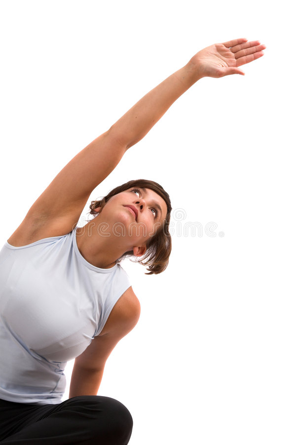 Download Reaching up stock image. Image of sport, stretching, feminine - 1401183