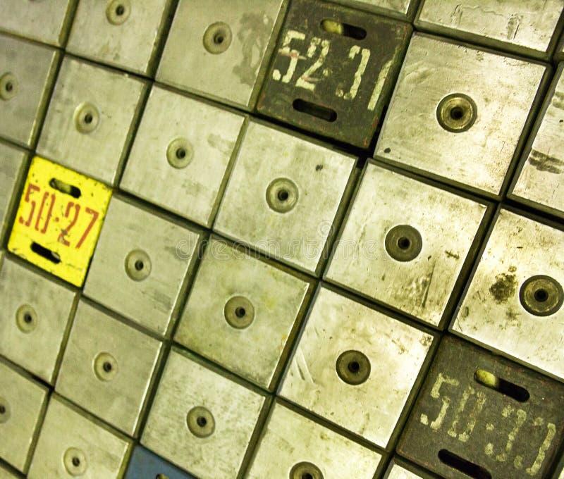 reactor de energía atómica Grafito-moderado fotografía de archivo