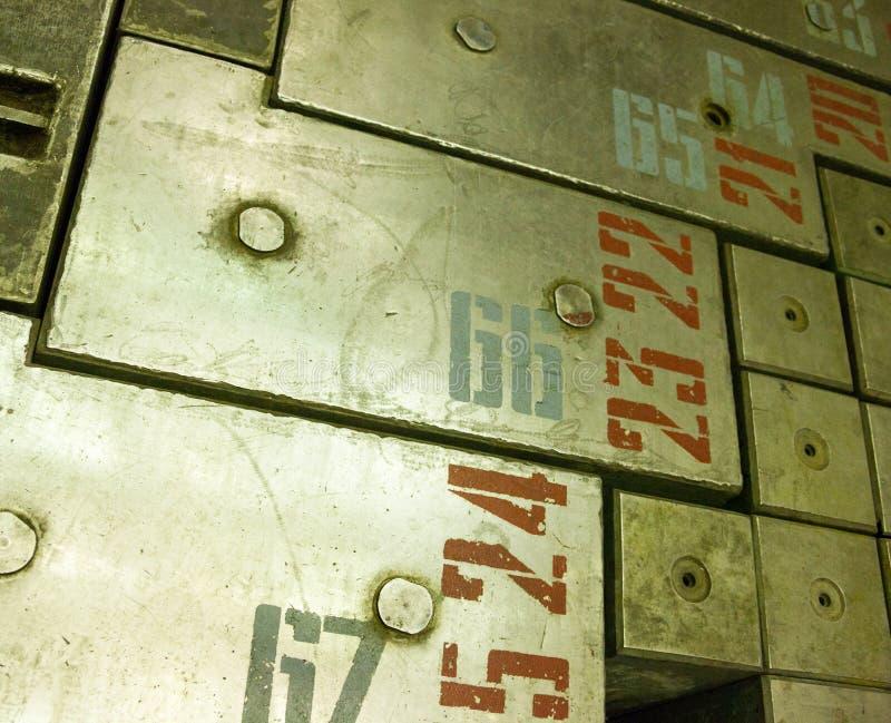 reactor de energía atómica Grafito-moderado imágenes de archivo libres de regalías