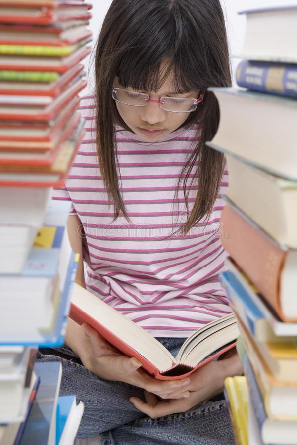 Read Books Free Stock Image