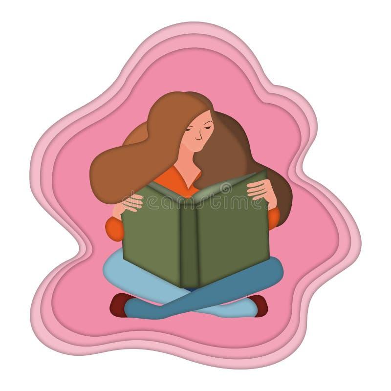 read ilustracja wektor