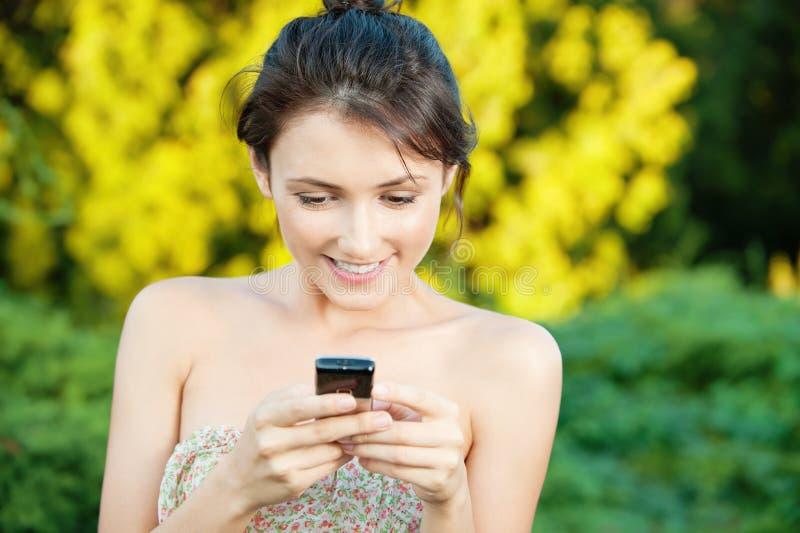 read sms kobieta obraz royalty free